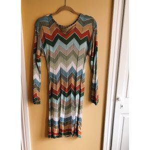 Missoni sleeve dress